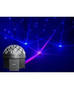 Light Emotion HALFBALL Rotating LED DMX half ball - 5 x 3W RGBWA LED