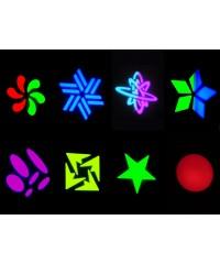 Light Emotion LE60 60w LED Moving Head. Colours, gobos, pan & tilt.