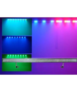 Light Emotion LEDBAR LED BAR 1m Wash Light 35w RGB 384 LEDs. DMX, Sound active, built in programs.