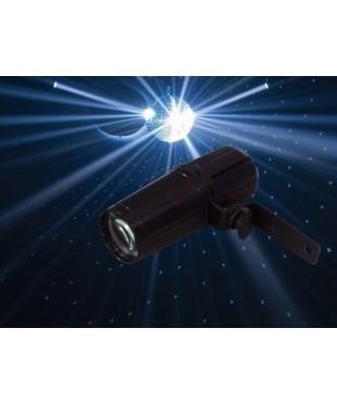 Light Emotion LEDPIN1X3MK2 LED Pinspot 1x3W White LED.