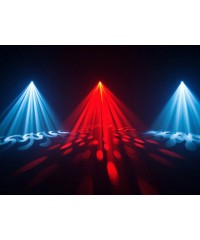 Light Emotion Professional LEP150B 150W LED Moving Head Hybrid - 11 colours, 17 gobos, prism. Spot & beam.