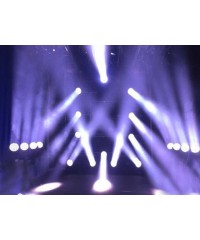 Light Emotion Professional LEP2825Z Supernova LED Wash Zoom Moving Head - 28 x 25w RGBW LEDs.