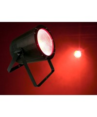 Light Emotion P64100RGB COB LED Par 64 Can 3-in-1 RGB 100W DMX. Two beam angle lenses included.