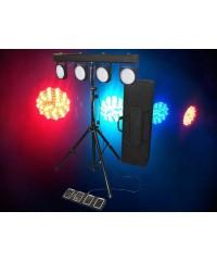 Light Emotion PARBAR LED Par Bar 432 LEDs comes with stand, foot contoller, bag.