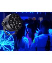 Light Emotion VIVIDUV Compact LED UV Wash with 12 x 3W UV LED, DMX.