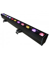 Light Emotion LEDBAR5QUADO use LEDBAR1812 or LEDBAR1803 LED BAR Outdoor IP65 1m Wash Light 12x5w RGBW 4-in-1 LEDs